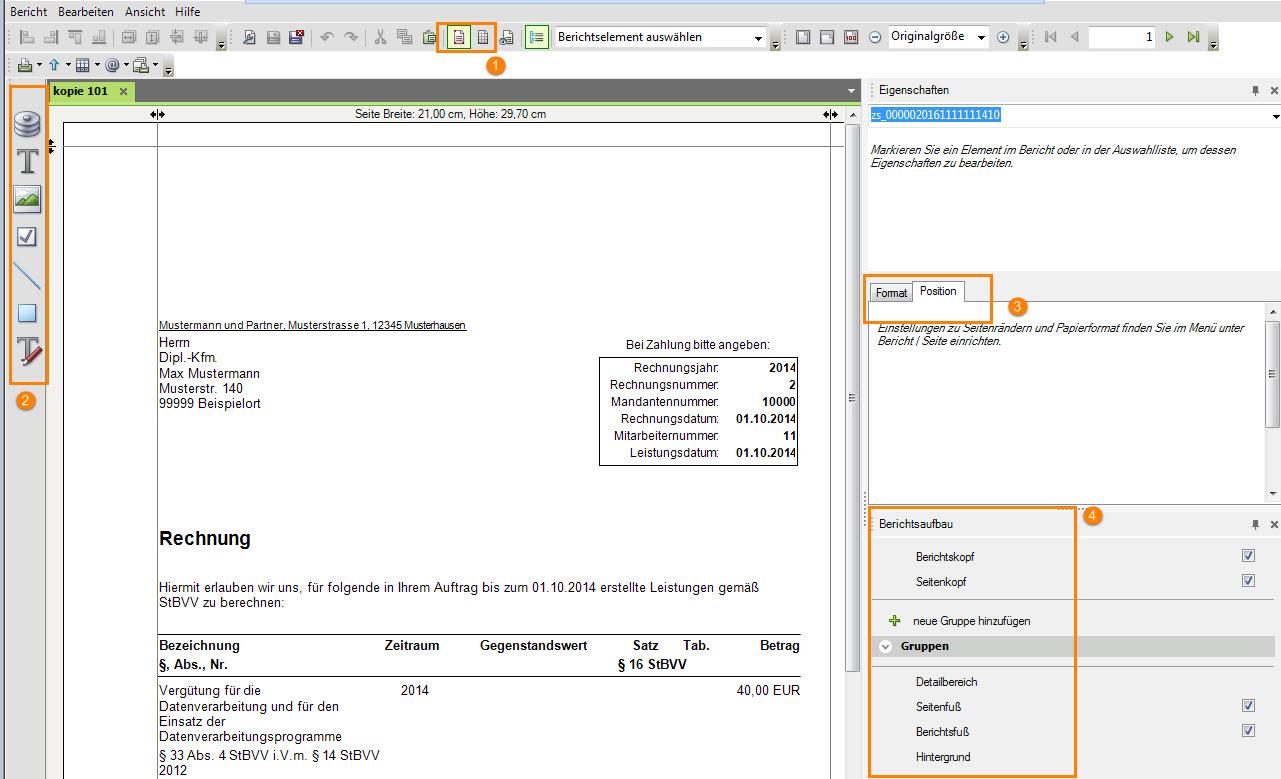 Dokument 1001977 - Rechnungsformular neu erstelle... - LEXinform/Info-DB