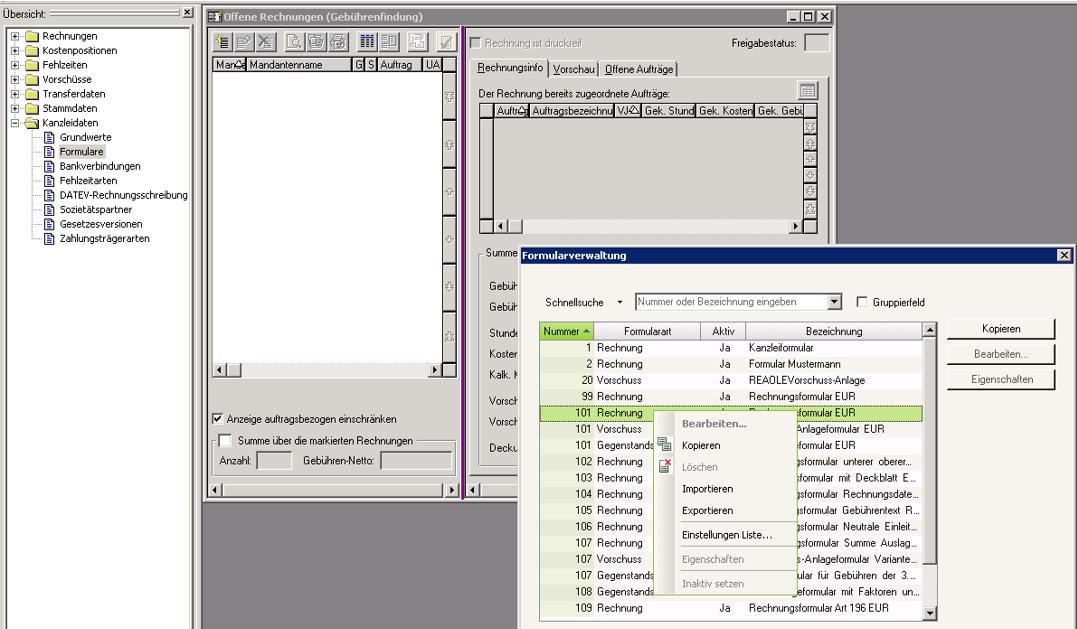 Dokument 1031051 - Rechnungsformulare sichern in ... - LEXinform/Info-DB
