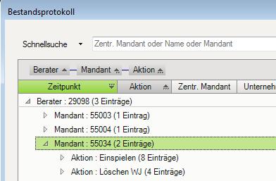 Dokument 1080797 - DATEV Rechnungswesen-Programme... - LEXinform/Info-DB